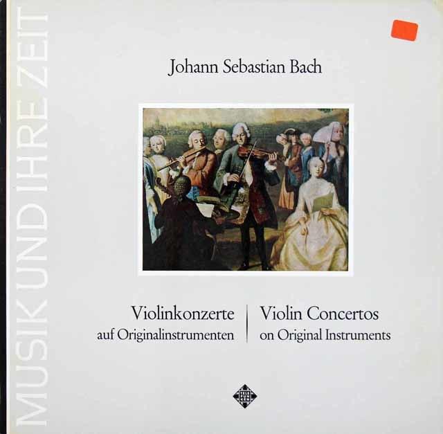 アーノンクール夫妻のバッハ/ヴァイオリン協奏曲集 独TELEFUNKEN 3036 LP レコード