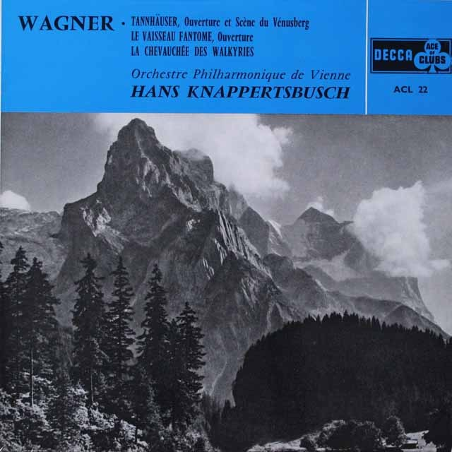 クナッパーツブッシュのワーグナー/「管弦楽名曲集」 仏DECCA モノラル 2617 LP レコード