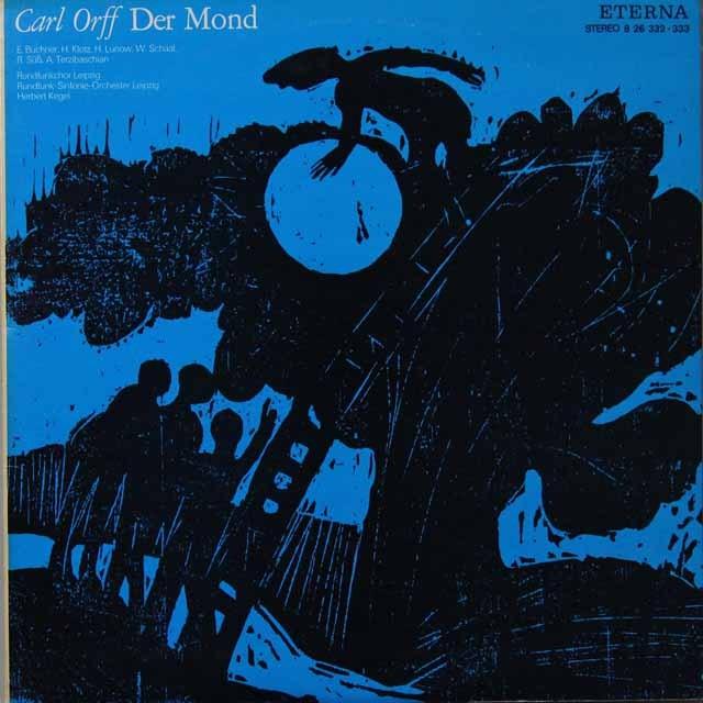 ケーゲルのオルフ/「月」 独ETERNA 2701 LP レコード