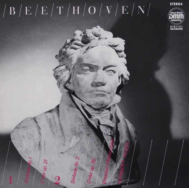 ケーゲルのベートーヴェン/交響曲第1&2番 独ETERNA 3036 LP レコード