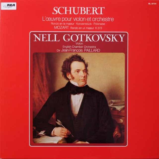 ゴトコフスキーのシューベルト/「アダージョとロンド」ほか 仏RCA 3333 LP レコード
