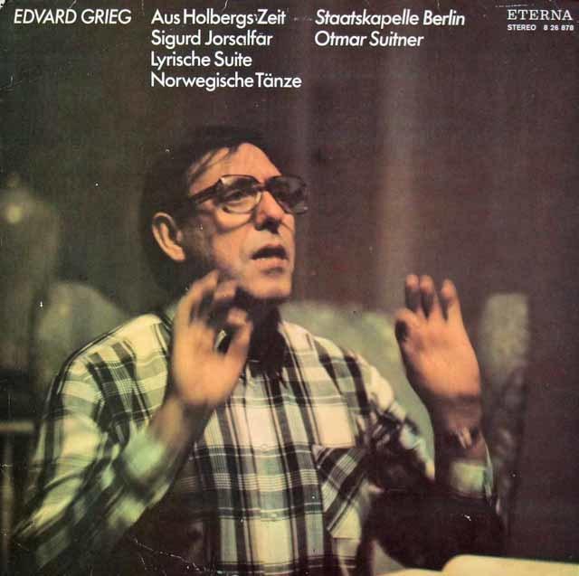 スウィトナーのグリーグ/組曲「ホルベアの時代から」ほか 独ETERNA 3036 LP レコード