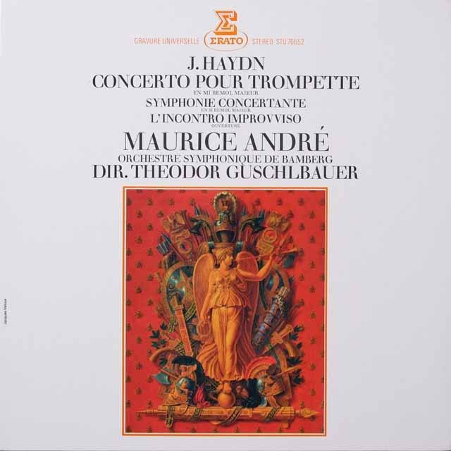 アンドレのハイドン/トランペット協奏曲ほか 仏ERATO 3333 LP レコード