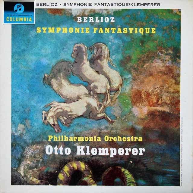 【オリジナル盤】 クレンペラーのベルリオーズ/幻想交響曲 英Columbia 3023 LP レコード