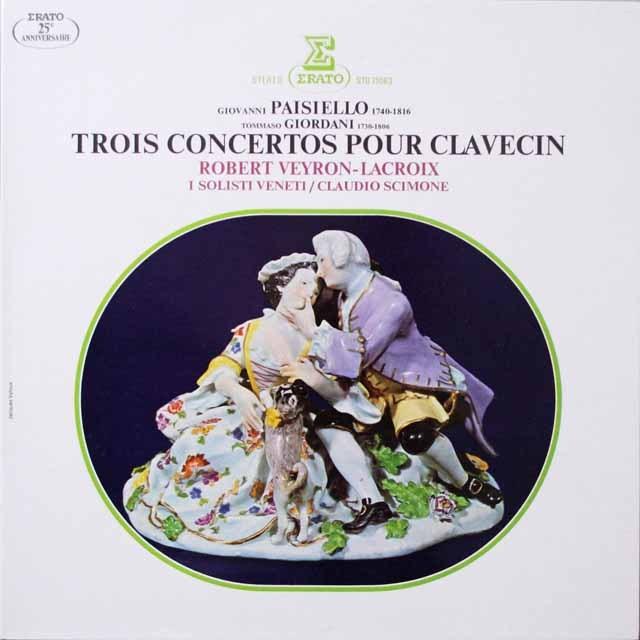 ラクロアのパイジェッロ/チェンバロ協奏曲ほか 仏ERATO 3333 LP レコード