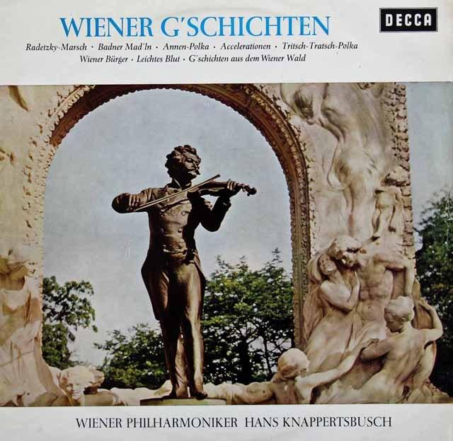 クナッパーツブッシュの「ウィーンの休日」 独DECCA 2920 LP レコード