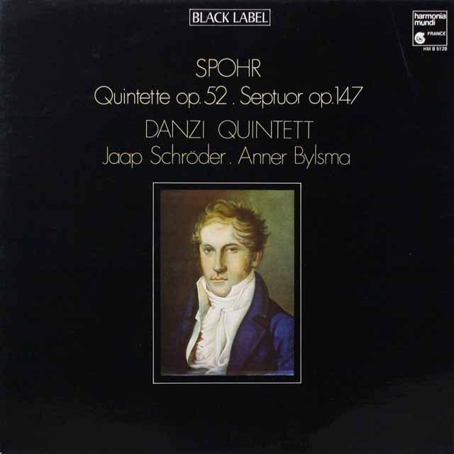 ダンツィ五重奏団ほかのシュポア/五重奏曲、七重奏曲 仏HM 3333 LP レコード