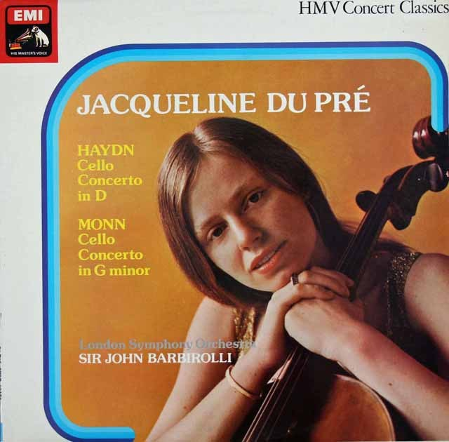 デュ・プレ&バルビローリのハイドン/チェロ協奏曲第2番ほか 英EMI 2920 LP レコード