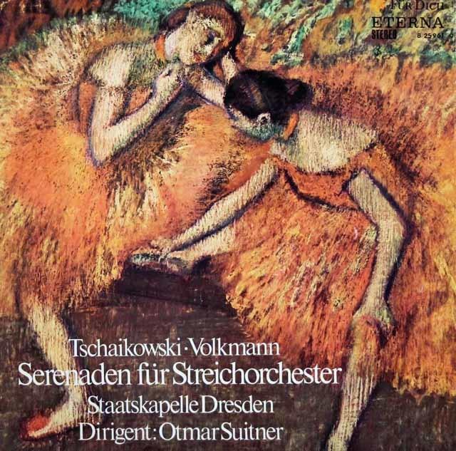 スウィトナーのチャイコフスキー&フォルクマン/弦楽セレナーデ集 独ETERNA 3023 LP レコード
