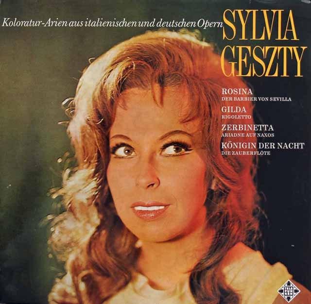 ゲスティのイタリア&ドイツオペラ・コロラトゥーラ・アリア集 独TELEFUNKEN 3295 LP レコード