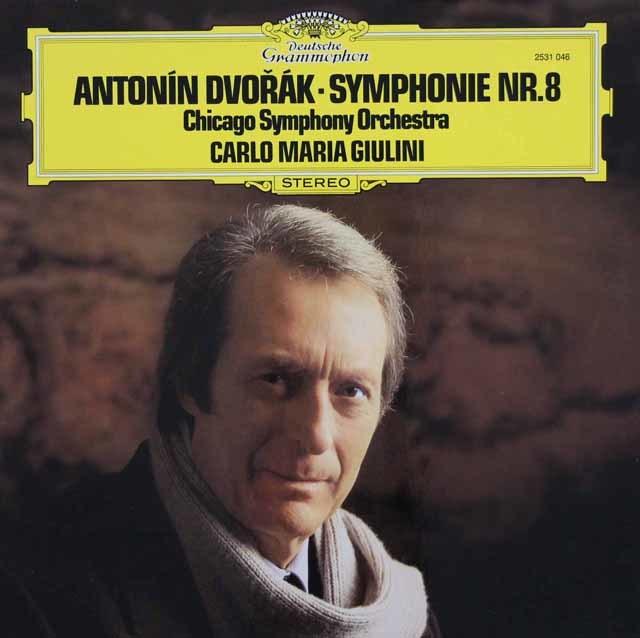 ジュリーニのドヴォルザーク/交響曲第8番 独DGG 3023 LP レコード