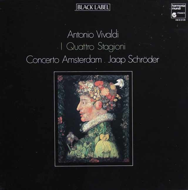シュレーダーのヴィヴァルディ/「四季」 仏HM 3033 LP レコード