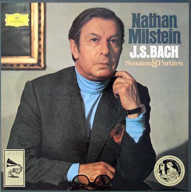 ミルシュタインのバッハ/無伴奏ヴァイオリンソナタとパルティータ 独DGG 3036 LP レコード
