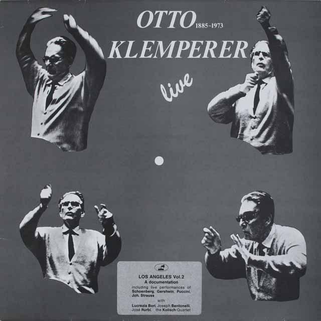 【非売品】 クレンペラーのブラームス(シェーンベルク編曲)/ピアノ四重奏曲第1番(管弦楽版)ほか プライヴェート盤 3227 LP レコード
