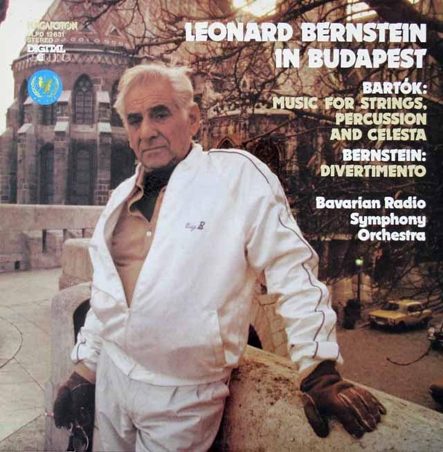 バーンスタインの1983年ブダペストライヴ  ハンガリーHungaroton 3399 LP レコード