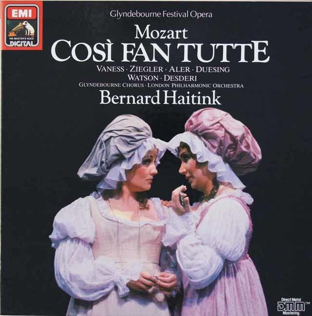 ハイティンクのモーツァルト/「コジ・ファン・トゥッテ」全曲 独EMI 3036 LP レコード