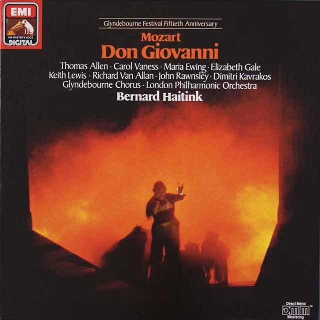 ハイティンクのモーツァルト/「ドン・ジョヴァンニ」全曲 独EMI 3036 LP レコード