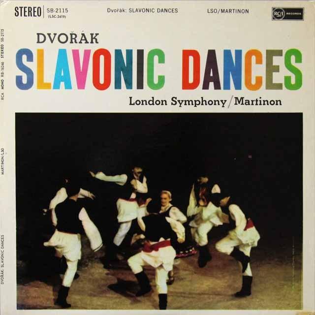 マルティノンのドヴォルザーク/スラヴ舞曲 英RCA オリジナル盤 2701 LP レコード