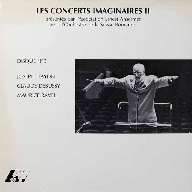 アンセルメのハイドン/交響曲第94番ほか スイス・アンセルメ協会 2701 LP レコード