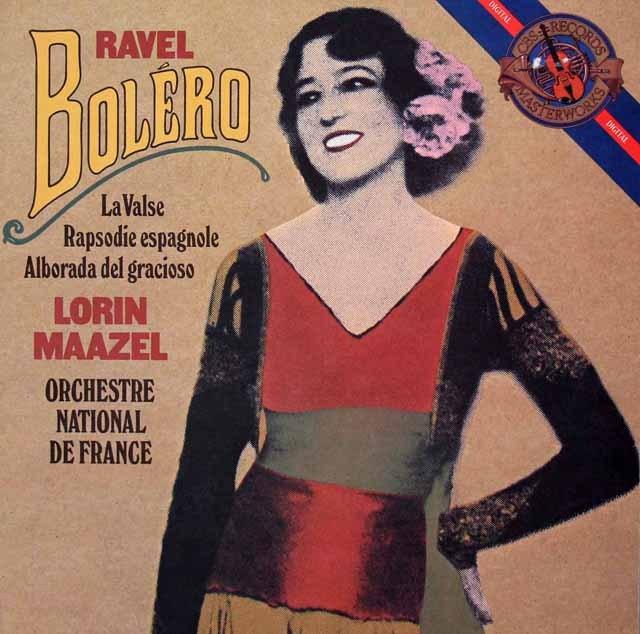 マゼールのラヴェル/「ボレロ」 蘭CBS 3399 LP レコード