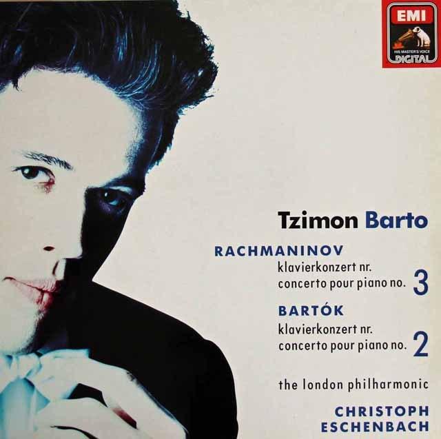 バルト&エッシェンバッハのラフマニノフ&バルトーク/ピアノ協奏曲集 独EMI 2834 LP レコード