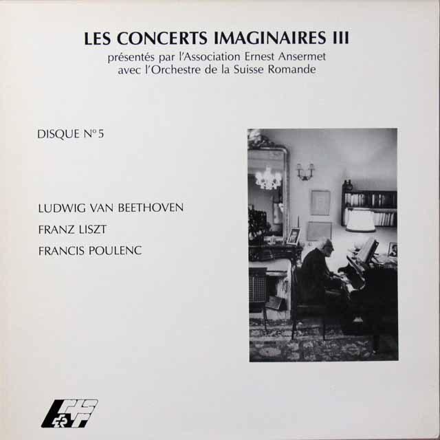 アンセルメのベートーヴェン/「希望に寄せて」ほか スイス・アンセルメ協会 2701 LP レコード