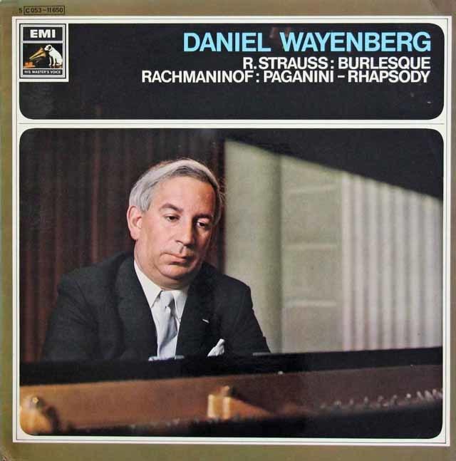 ワイエンベルク&ドホナーニのR.シュトラウス/ブルレスケほか 蘭EMI 3033 LP レコード
