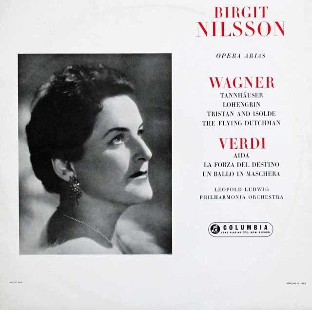【オリジナル盤】ニルソンのワーグナー&ヴェルディ/オペラ・アリア集 英Columbia 3033 LP レコード