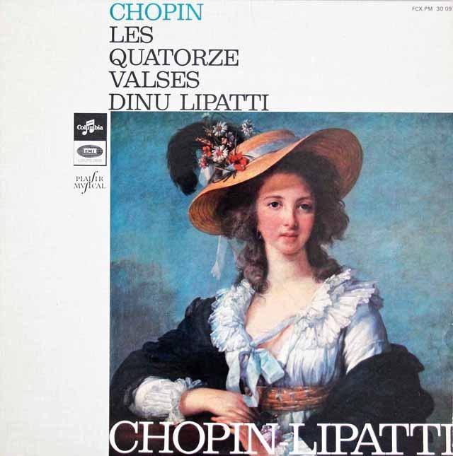 リパッティのショパン/ワルツ集 仏Columbia 3023 LP レコード
