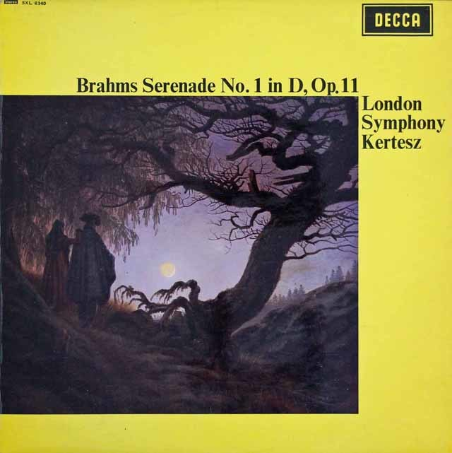 【オリジナル盤】ケルテスのブラームス/セレナーデ第1番 英DECCA 3035 LP レコード