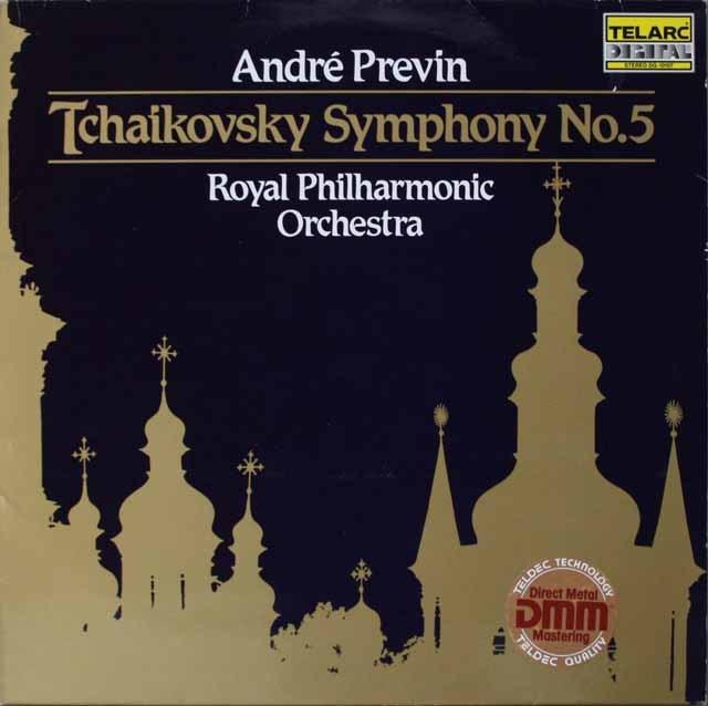 プレヴィンのチャイコフスキー/交響曲第5番ほか