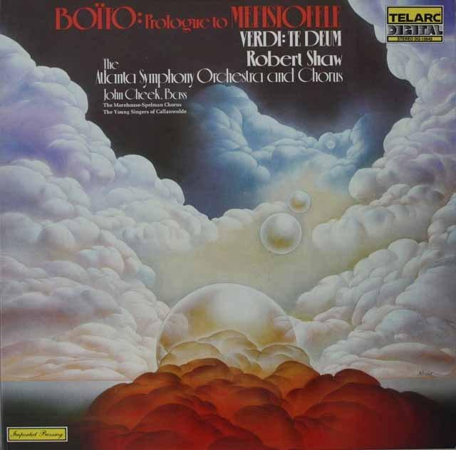 ロバート・ショウのボーイト/歌劇「メフィストフェーレ」へのプロローグほか 独TELARC 3228 LP レコード