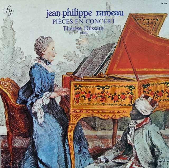 デュソーのラモー/コンセール用クラヴサン曲集 仏fy 3295 LP レコード