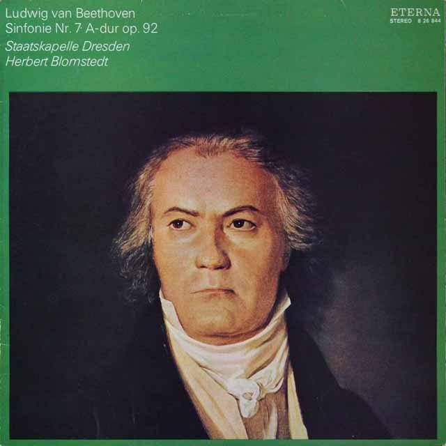 ブロムシュテットのベートーヴェン/交響曲第7番 独ETERNA  2705 LP レコード