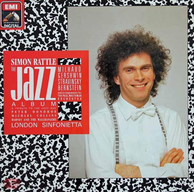 ラトルのジャズ・アルバム 独EMI 3017 LP レコード