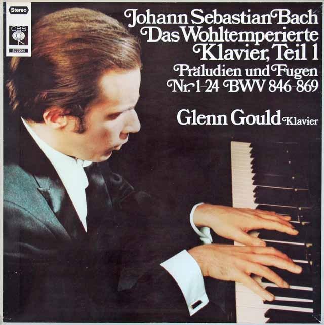グールドのバッハ/平均律クラヴィーア曲集第1巻(全曲) 独CBS 3017 LP レコード