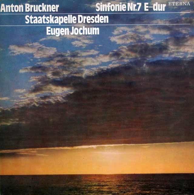 ヨッフムのブルックナー/交響曲第7番 独ETERNA 3035 LP レコード