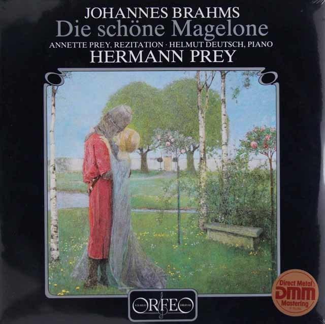 【未開封】 プライのブラームス/ティークのマゲローネによるロマンス 独ORFEO 3035 LP レコード