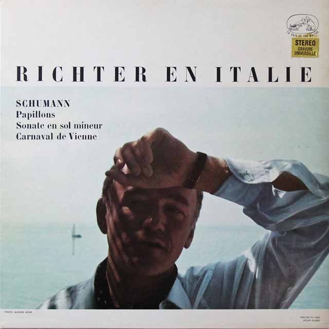 イタリアのリヒテル 仏EMI(VSM) 3222 LP レコード
