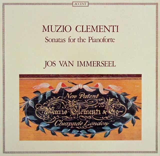 インマゼールのクレメンティ/ピアノフォルテのためのソナタ集  独ACCENT 3035 LP レコード