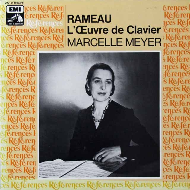 メイエルのラモー/クラヴサン曲集 仏EMI (VSM) 3222 LP レコード