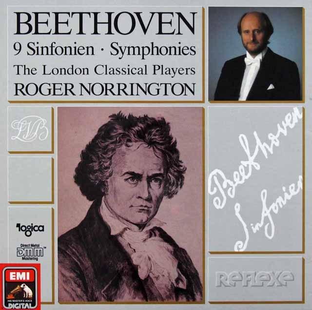ノリントンのベートーヴェン/交響曲全集 独EMI 3285 LP レコード