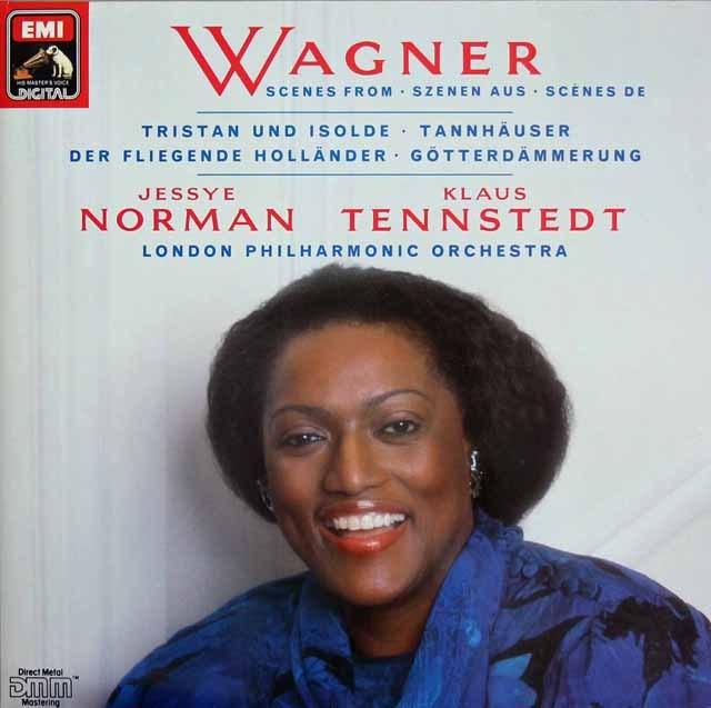 ノーマン&テンシュテットのワーグナー/アリア集 独EMI 3218 LP レコード
