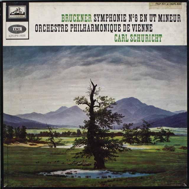 シューリヒトのブルックナー/交響曲第8番 仏EMI 2515