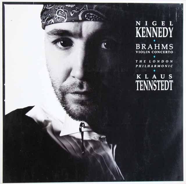 ケネディ&テンシュテットのブラームス/ヴァイオリン協奏曲 独EMI 3284 LP レコード