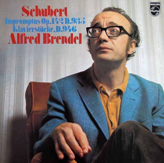 ブレンデルのシューベルト/4つの即興曲ほか 蘭PHILIPS 3284 LP レコード