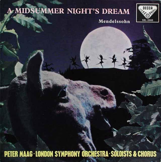 マークのメンデルスゾーン/「真夏の夜の夢」 英DECCA オリジナル盤