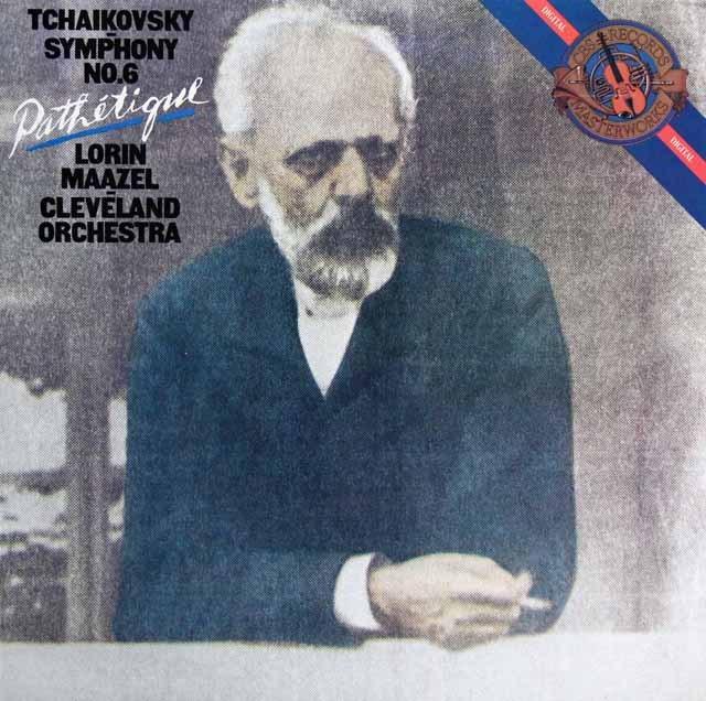 マゼールのチャイコフスキー/交響曲第6番「悲愴」 蘭CBS 3284 LP レコード
