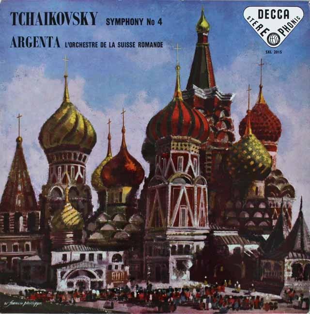 アルヘンタのチャイコフスキー/交響曲第4番 英DECCA オリジナル盤