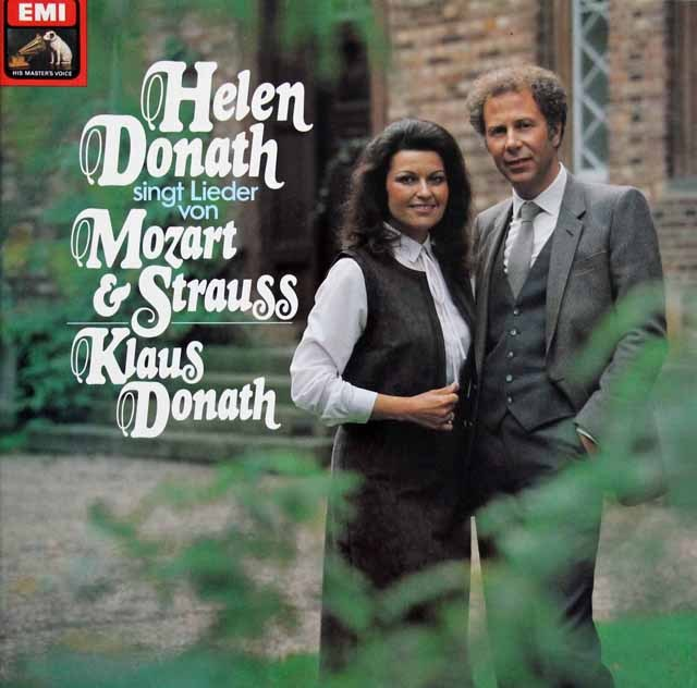 ドーナトのモーツァルト&R.シュトラウス/歌曲集 独EMI 3284 LP レコード